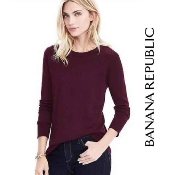 Banana Republic Extra Fine Merino Wool Sweater
